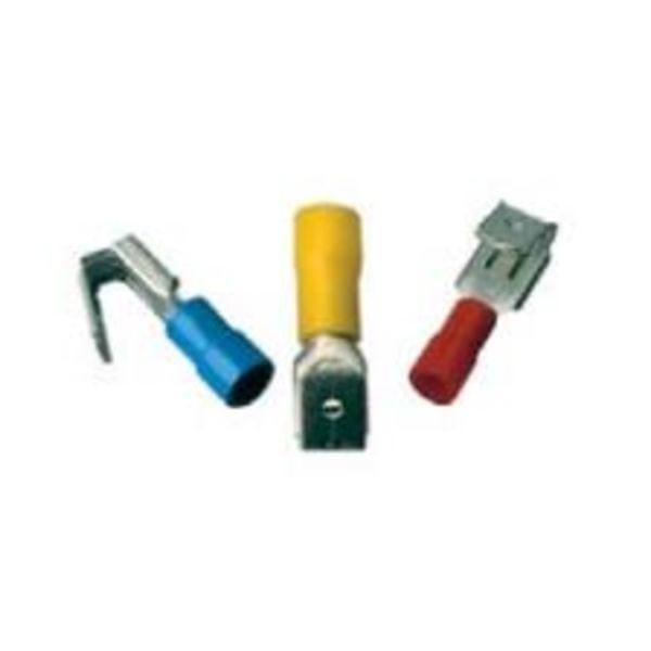 Tulejki, końcówki oczkowe, widełkowe, kontektory, złączki